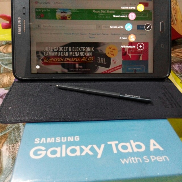 Galaxy Tab A with S-Pen