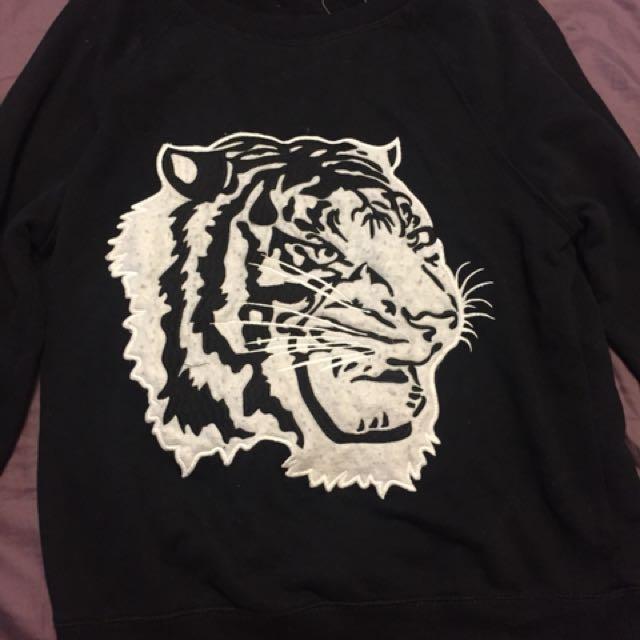 Garage Tiger Sweater