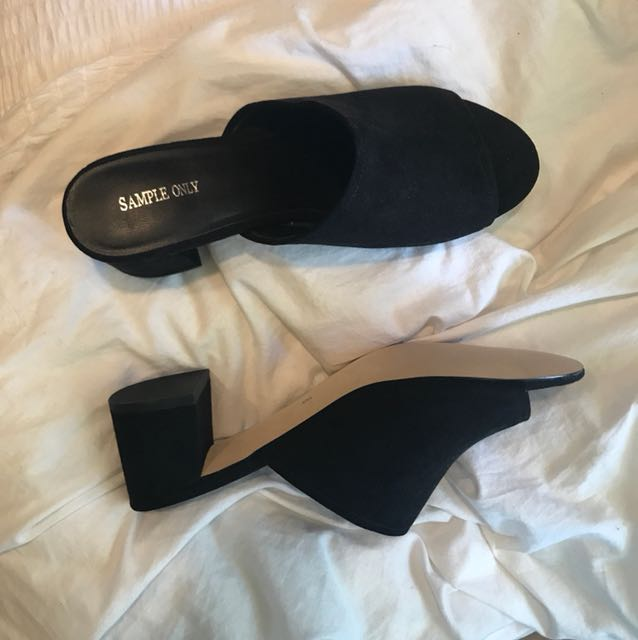 Glassons Mules - BRAND NEW SAMPLE