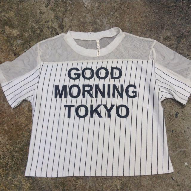 Good morning Tokyo Top