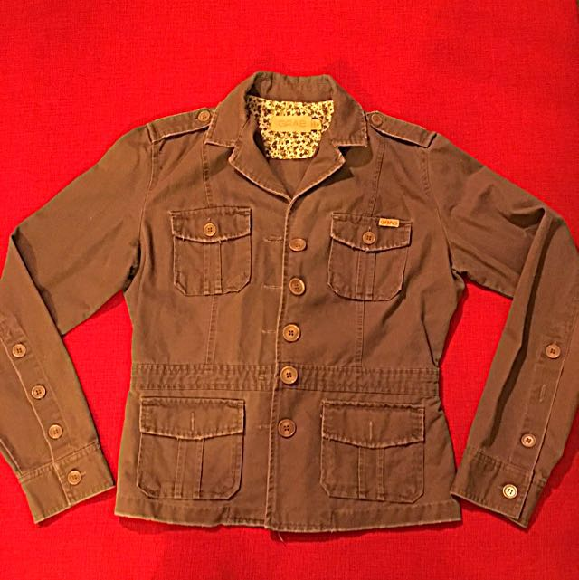 GRAB Army Jacket