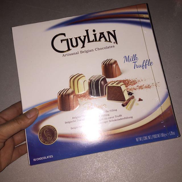 Guylian milk truffle perlines belgian chocolates 150g 16 pcs