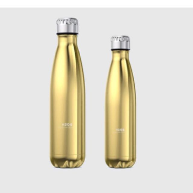 H2O& Stainless steel insulated bottles