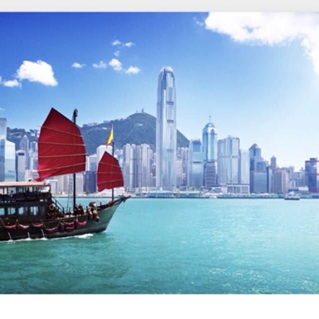 Hotel voucher for HK for 4 nights