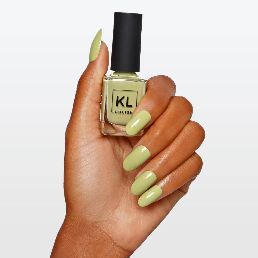 INSTOCK] KL Polish Pistachio Ice Cream Nail Polish, Health & Beauty ...