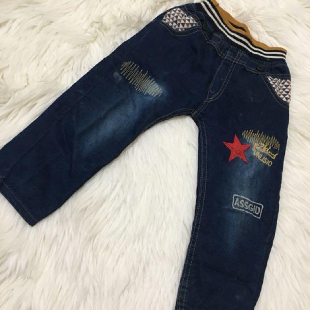 Jeans anak 3-4 tahun