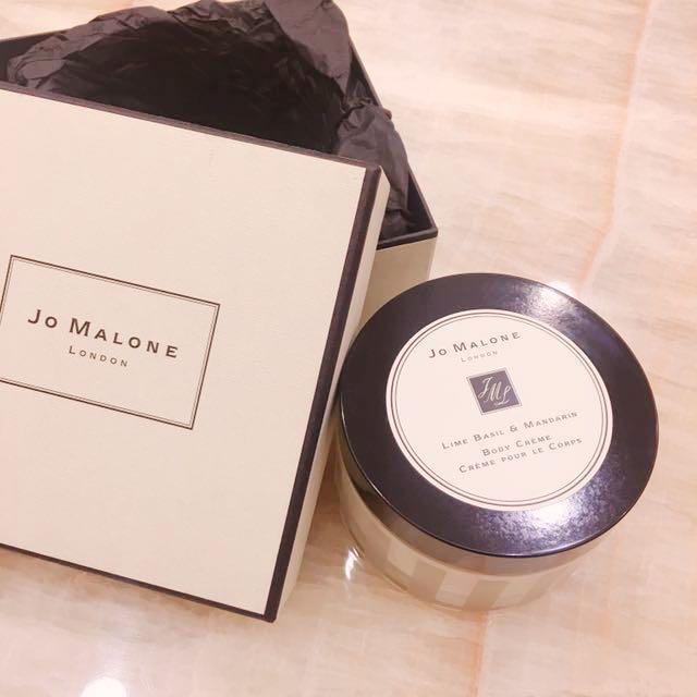 Jo Malone青檸羅勒柑橘乳霜