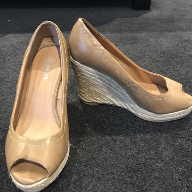 Joanne Mercer Beige heels