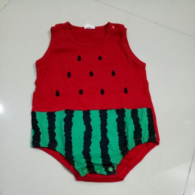 Jumper Semangka Baby Up To 1 Tahun