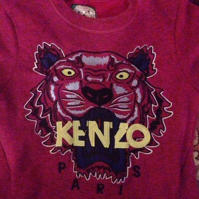 KENZO New jumper dress Pink