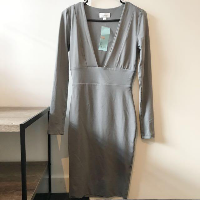 Kookai Dress (Stone)