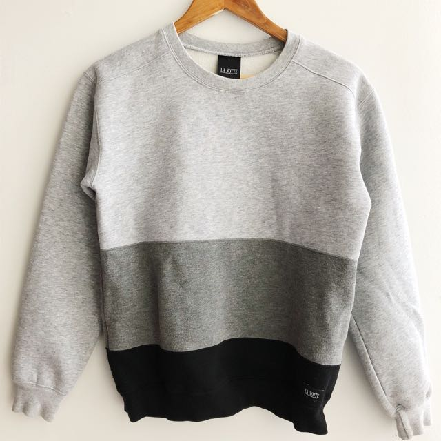 La Notte Colour Block Sweatshirt