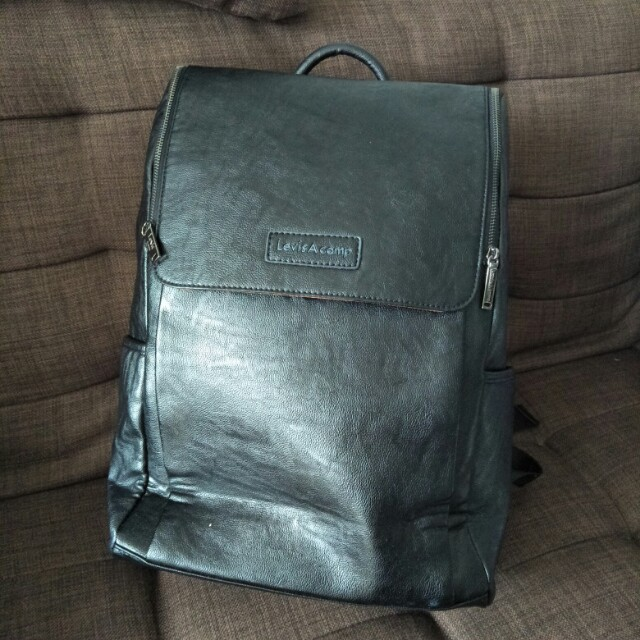 Levi's A Camp Leather Backpack