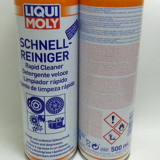Liquimoly Rapid cleaner Made IN GERMANY 500ML ORIGINAL