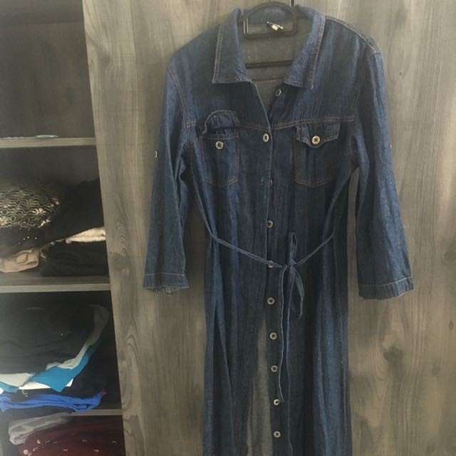 Long jeans outwear / dress