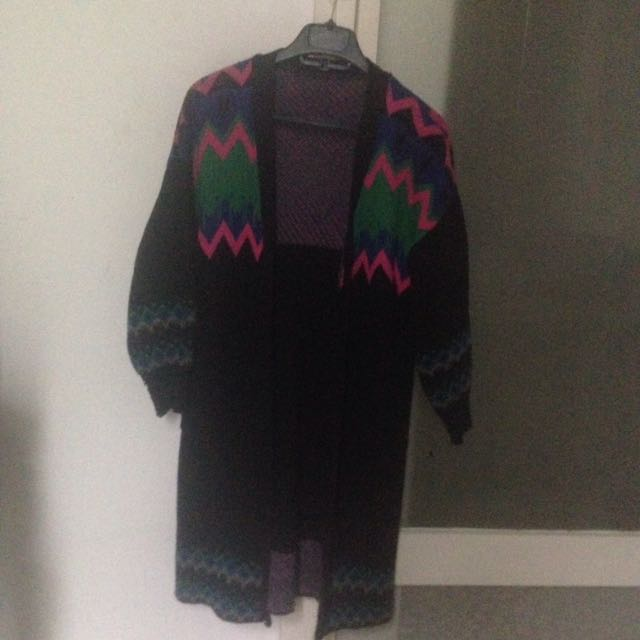 LONG KNIT OUTER