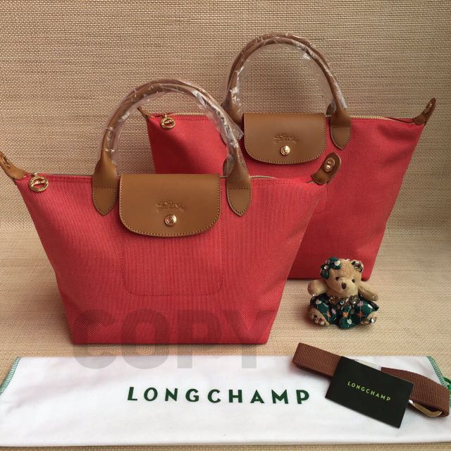 Longchamp Neo toile SUPER / ori pabrik