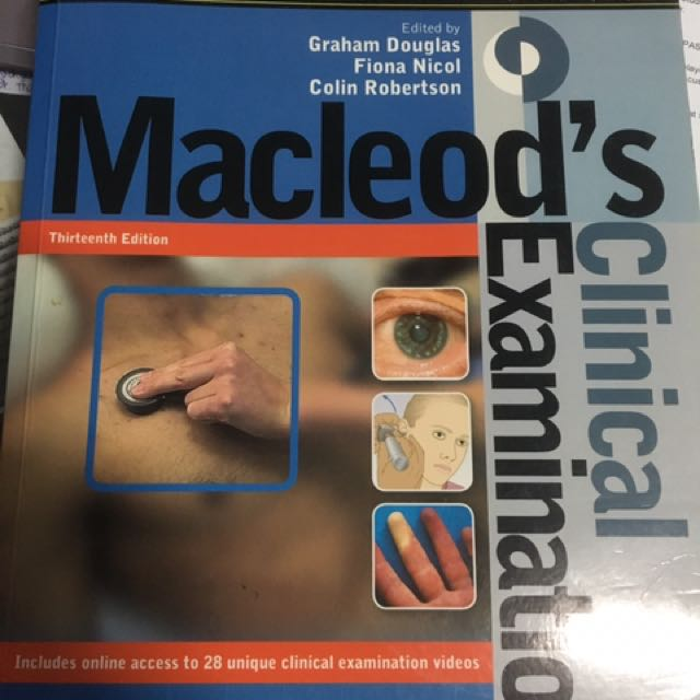 Macleods clinical examination books stationery textbooks on photo photo photo fandeluxe Gallery