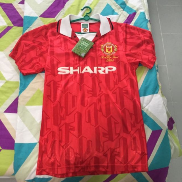 8aead76428a Manchester United Vintage Jersey. RARE