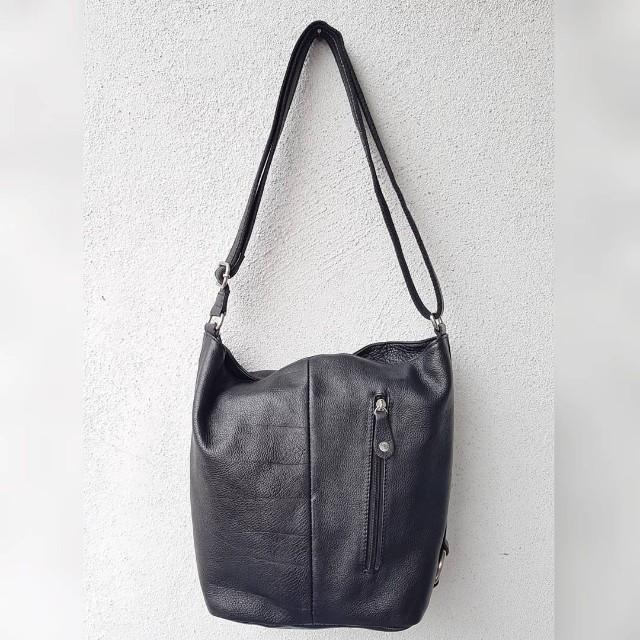 Milleni Genuine Leather Sling Bag