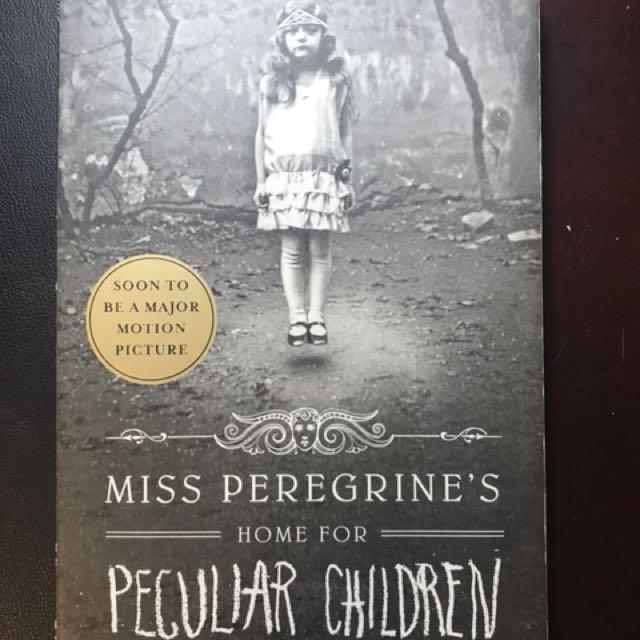 Miss Peregrines Home Of Peculiar Children Book