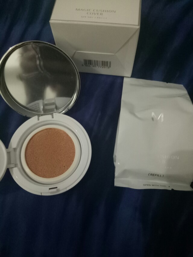 Missha bb cushion + bonus refill