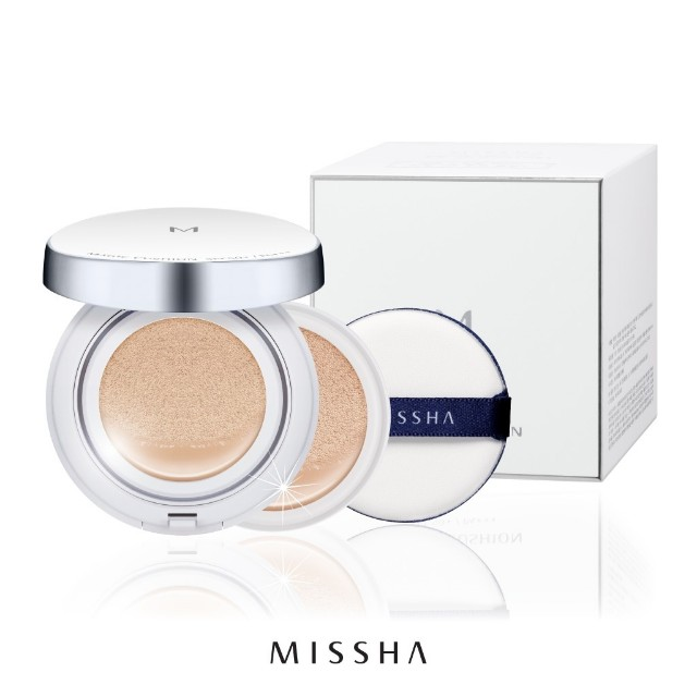 Missha magic cushion set SPF50+/PA+++ (FREE REFILL DAN EKSTRA PUFF)