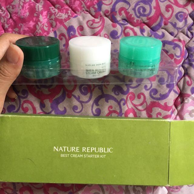Nature republik best cream starter kit