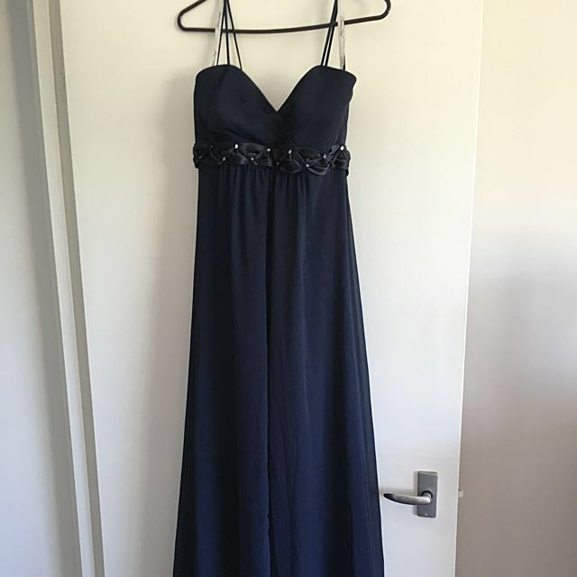 Navy Blue Formal/bridesmaids Dress