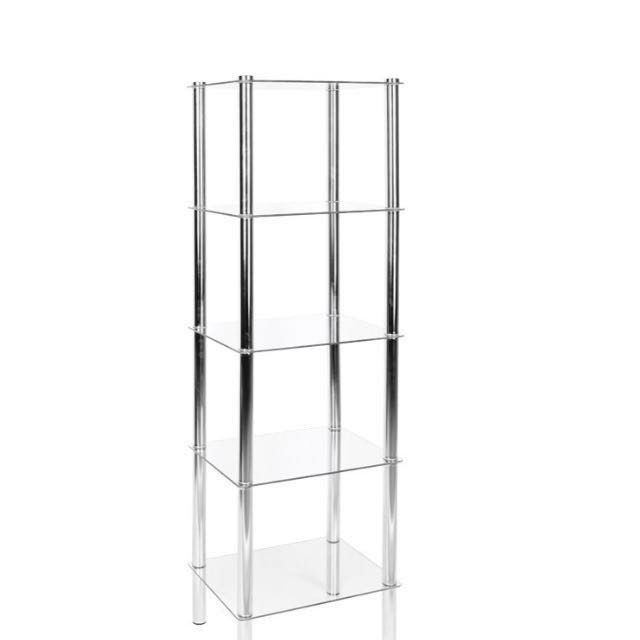 New 5 tier glass shelf