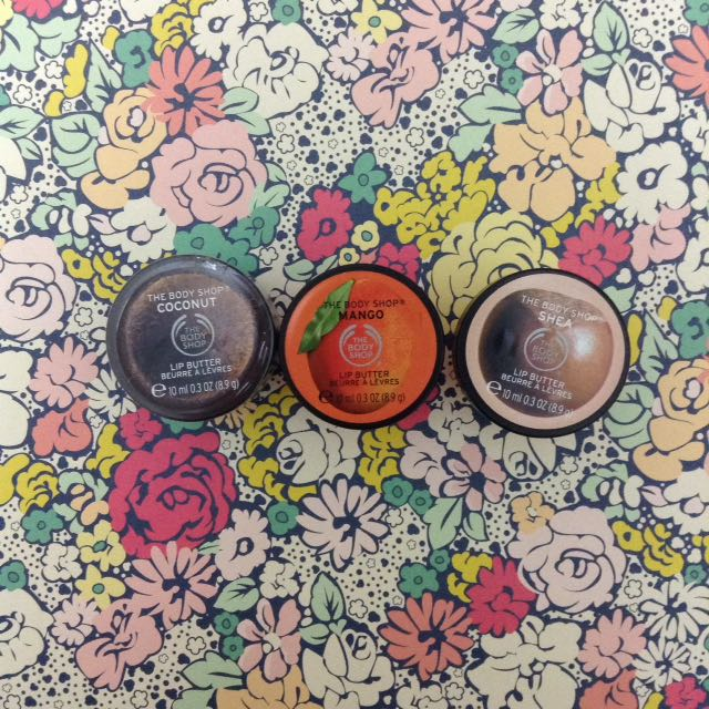 New Body Shop Lip Butters