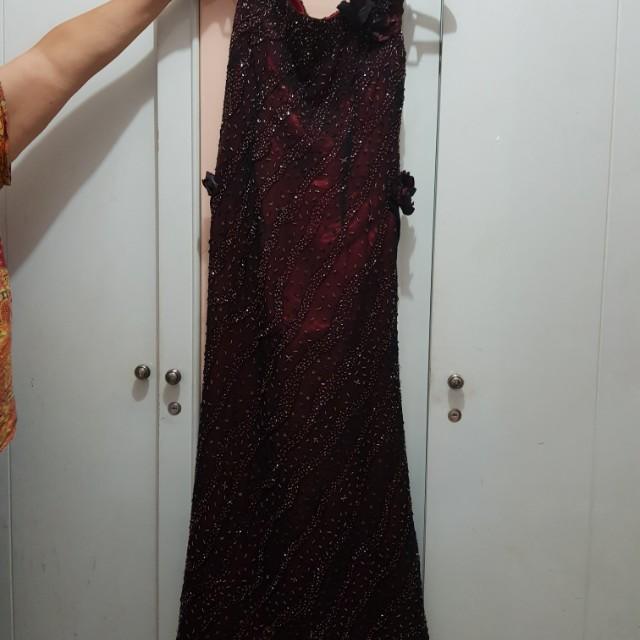 Night long gown dress