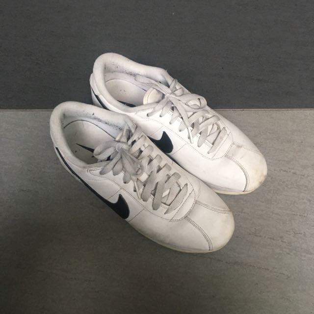 Nike 阿甘 白 24.5