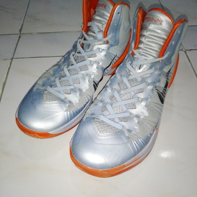 Nike HyperDunk 2013 XDR (Siver and Orange)