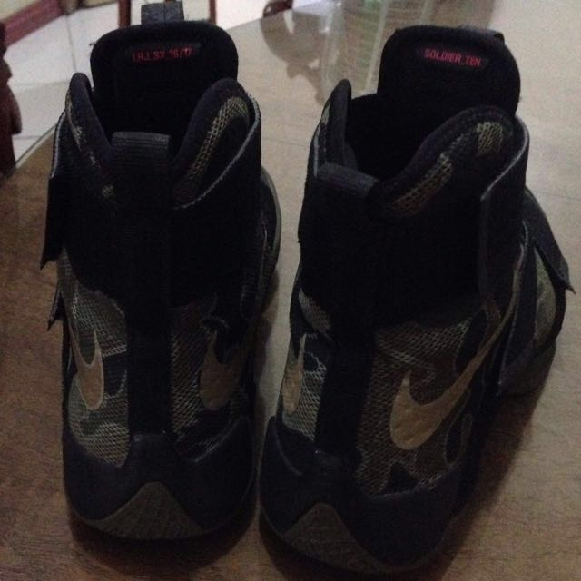 reputable site 01144 3b836 ... nike lebron soldier 10 camouflage mens fashion footwear on carousell
