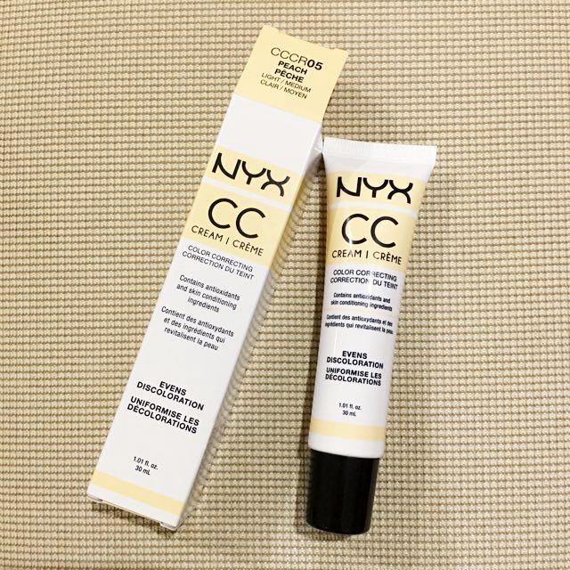 NYX CC creme Color Correcting Tint In Peach