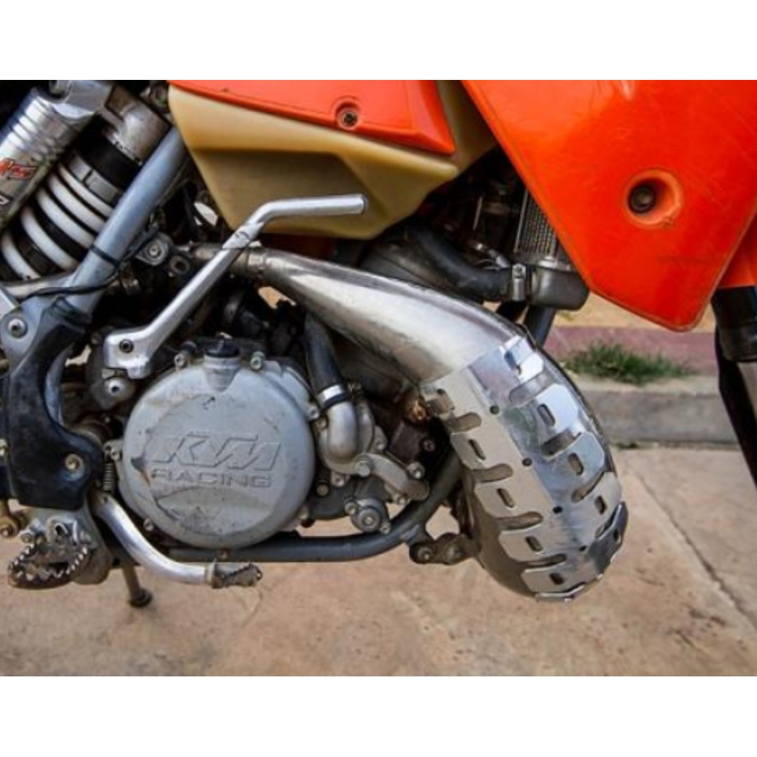 Offroad Motorcycle Exhaust pipe Guard