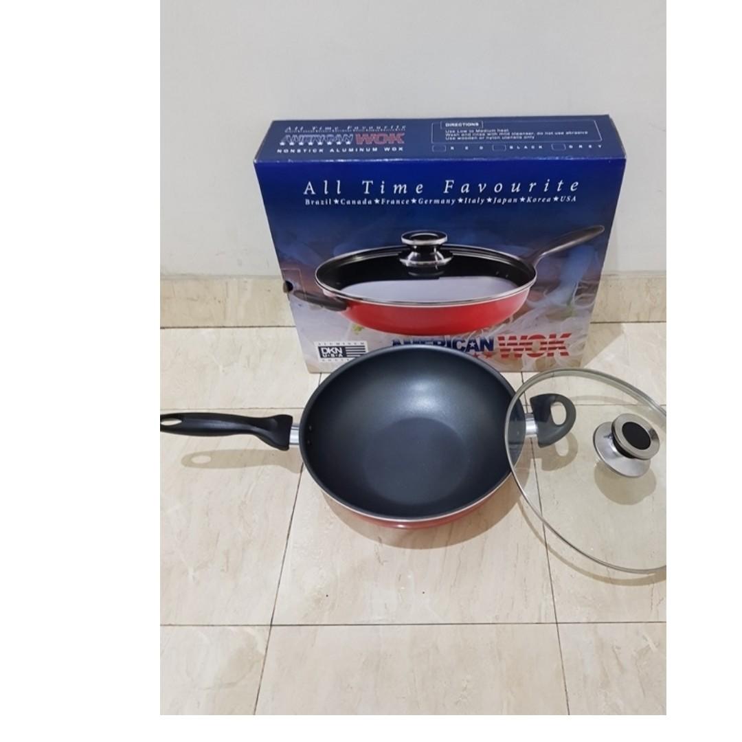 Maxim Wajan Teflon Hero Wok 26cm Anti Lengket Daftar Harga Terbaru Heritage Yuwa Kecil 16cm Panci American Ceramic Kitchen Appliances