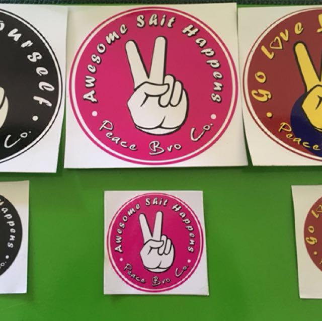Peace bro Co ✌️ stickers 🎉