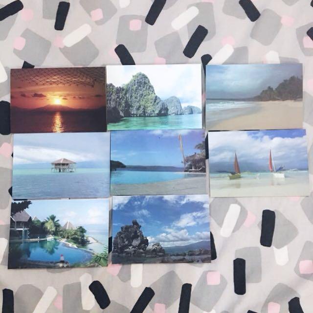 Philippine Travel themed greeting cards set (8 pcs)
