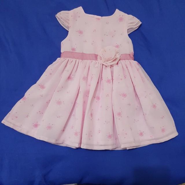 Pink George Dress (0-3 mos)