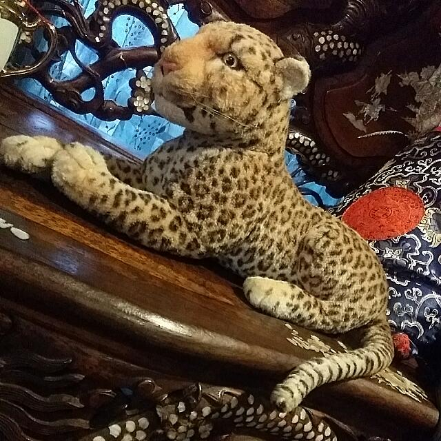Plush Toy Leopard