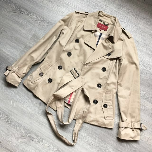 preloved burberry trench coat
