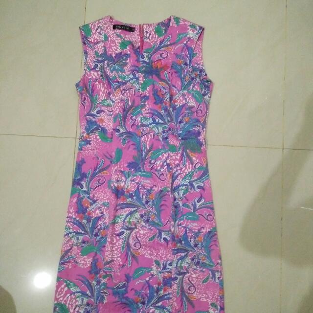 preloved dress size 12 setara M/L