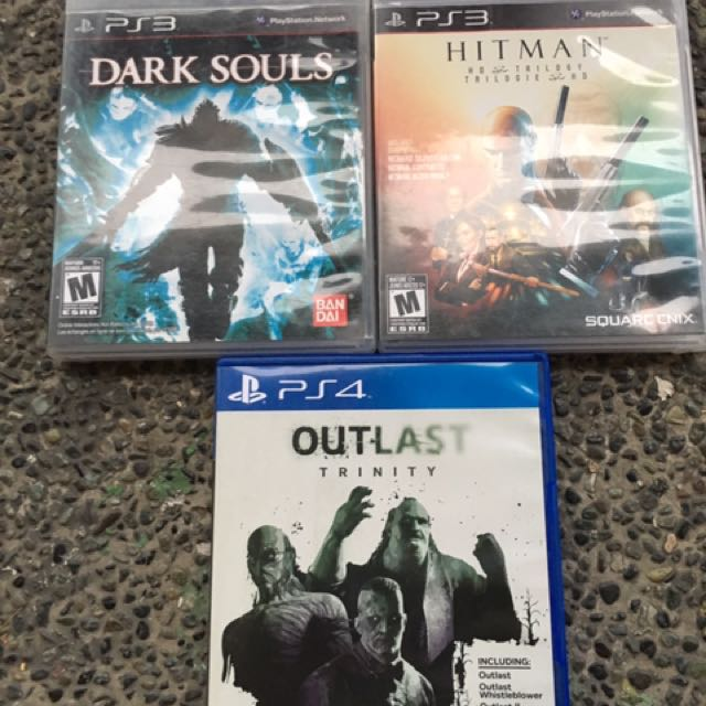 Ps3 Ps4 Games Dark Souls Hitman Outlast Trinity Video Gaming