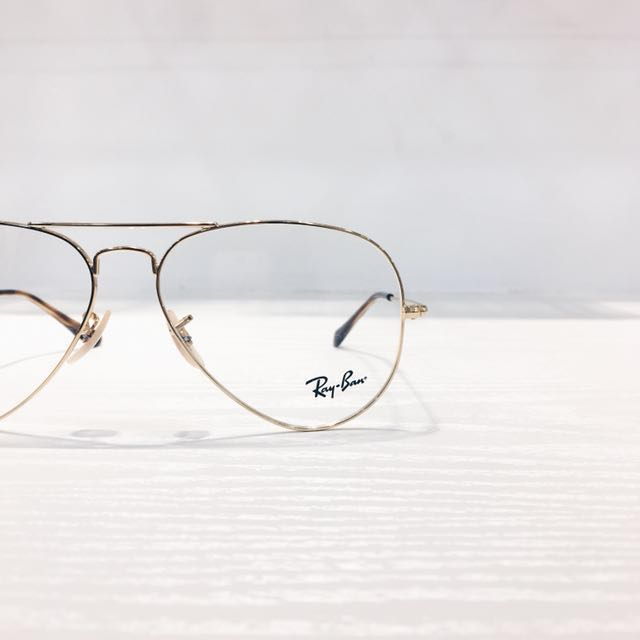 RAYBAN AVIATOR (RB6489 2500 58) GLASSES/ SPECTACLE FRAME