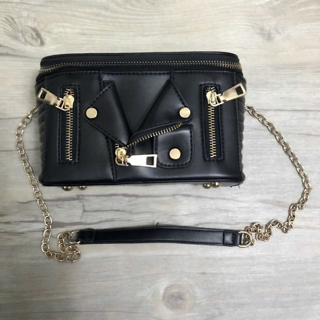 Reprice! Moschino inspired sling bag