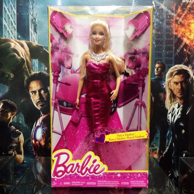 Rosa Fabulosa Barbie doll - First Wave no. 1