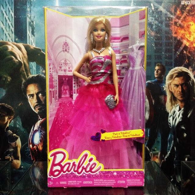 Rosa Fabulosa Barbie doll - First Wave no. 2