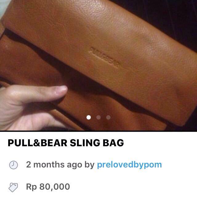 SALE!! PULL&BEAR SLING BAG